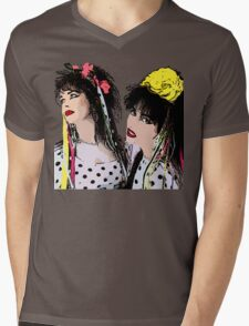 Strawberry Switchblade Mens V-Neck T-Shirt