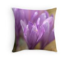 Crocus sativus  -  Gorce  Mountains Poland . by Brown Sugar . F** Views (691) . Favs(3) Dziękuję bardzo , Thanks a bunch !!! Throw Pillow