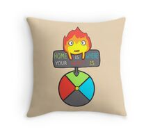 Moving Home Throw Pillow