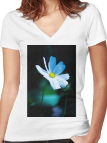 Daisy 3 Women's Fitted V-Neck T-Shirt