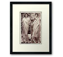 Blossoms & Seashells Framed Print