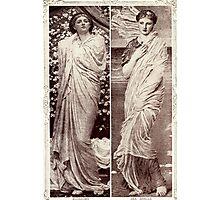 Blossoms & Seashells Photographic Print