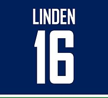 Vancouver Canucks Trevor Linden Jersey Back Phone Case by Russ Jericho