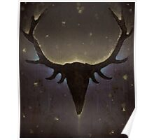 Sleeping Stag Poster