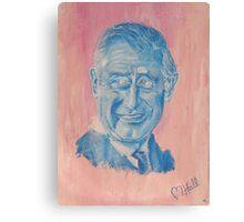 Charming Prince Charles Canvas Print