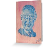 Charming Prince Charles Greeting Card