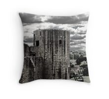 Barnard Castle Round Tower Throw Pillow
