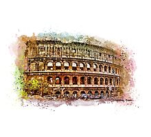 Colosseum Rome Photographic Print