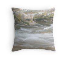 Water Silk Throw Pillow