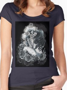 in her reflection Women's Fitted Scoop T-Shirt