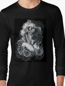 in her reflection Long Sleeve T-Shirt