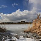 frozen lake by danapace