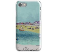 The Terrace, Blackpool 1855. iPhone Case/Skin