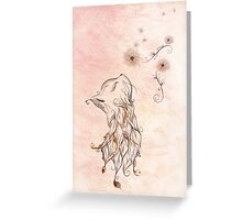 The little Kitty Greeting Card