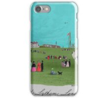 The Beach at Lytham. iPhone Case/Skin