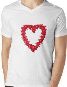 Berry Love Mens V-Neck T-Shirt