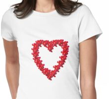 Berry Love Womens Fitted T-Shirt