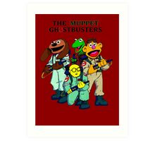 Muppet Ghostbusters Art Print