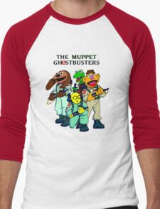 Muppet Ghostbusters Men's Baseball ¾ T-Shirt