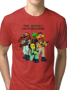 Muppet Ghostbusters Tri-blend T-Shirt