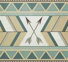 Aztec Pattern Arrows by LouJah-