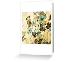 impression Greeting Card