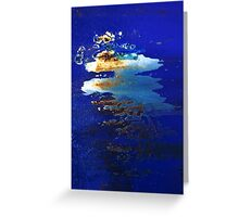 The Moonlight Oil Greeting Card