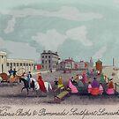 Victoria Baths, Southport 1857. by albutross