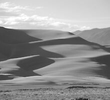 Great Sand Dunes National Park #BW10-002 by Christopher Heil