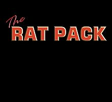 The Rat Pack, Singers, Music, Crooners, Frank Sinatra, Sammy Davis, Dean Martin. by TOM HILL - Designer