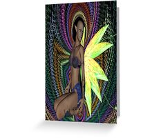 ELF WOMAN Greeting Card