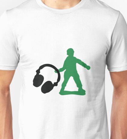 Soldier - Headphones Unisex T-Shirt