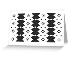 Musically generated Pattern #2. Greeting Card