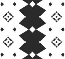 Musically generated Pattern #2. Sticker