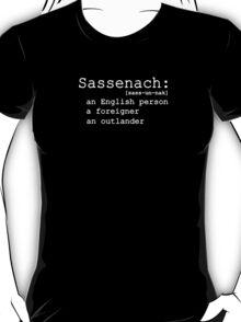 Call Me Sassenach T-Shirt
