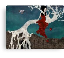 St. Rita and The Fig Tree Canvas Print
