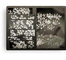 Flora Diptych Canvas Print