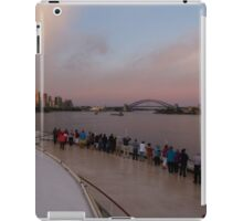 Cruising into Sydney at sunrise iPad Case/Skin