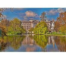 Buckingham Palace. View from St James Park. London Photographic Print