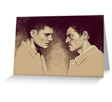 Destiel season 9 Greeting Card