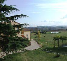 Tuscany morning view by geojas