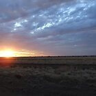 A beautiful Longreach sunset by geojas