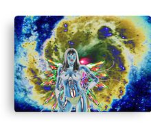 GODDESS OF THE STARS Canvas Print