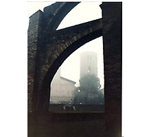 Flying buttresses Photographic Print