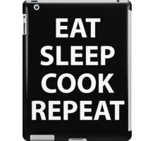 Eat Sleep Cook Repeat iPad Case/Skin
