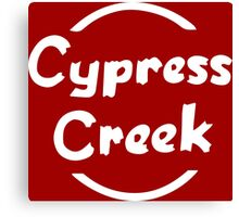 Cypress Creek shirt – The Simpsons, Globex, Hank Scorpio Canvas Print