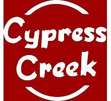 Cypress Creek shirt – The Simpsons, Globex, Hank Scorpio Photographic Print