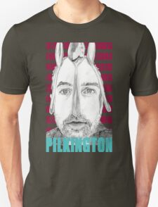 Karl Pilkington (with spoons) Portrait  Unisex T-Shirt