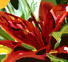 red lily by TerrillWelch