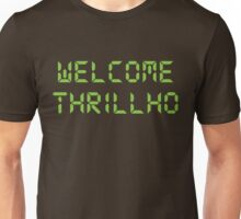 Welcome Thrillho shirt – Bonestorm, The Simpsons, Milhouse Van Houten, Thrillhouse Unisex T-Shirt